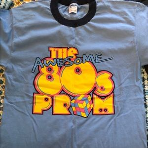 Tops - THE AWESOME 80's PROM T-SHIRT